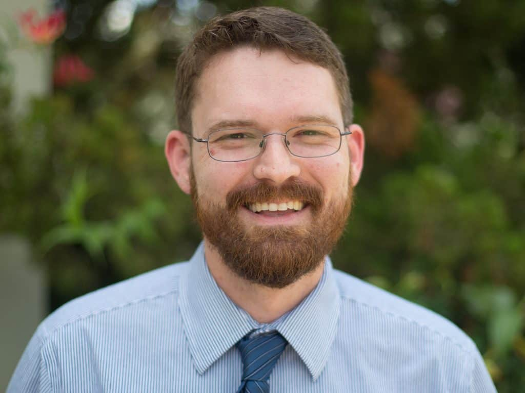 Chris Holcomb   Staff Photo   Youth Minister at Little Flower
