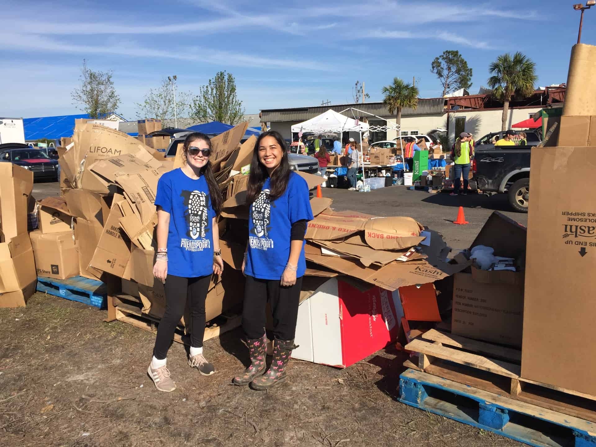 Our youth group returns changed from their recent trip to help those affected by Hurricane Michael