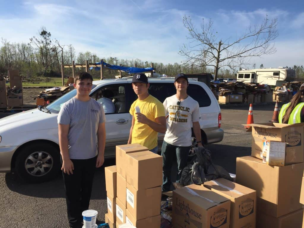 Our youth group returns changed from their recent trip to help those affected by Hurricane Michael 3