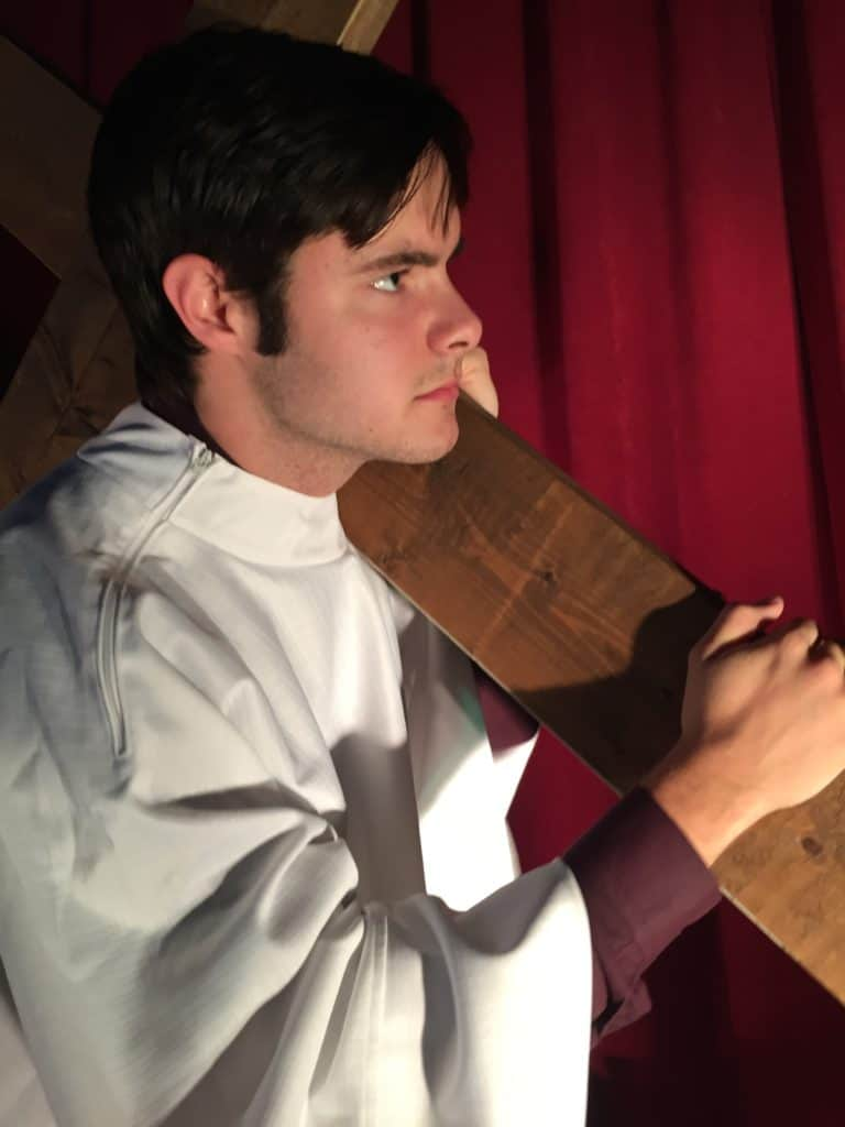 Come see the live action Passion Play presented by our youth group 3