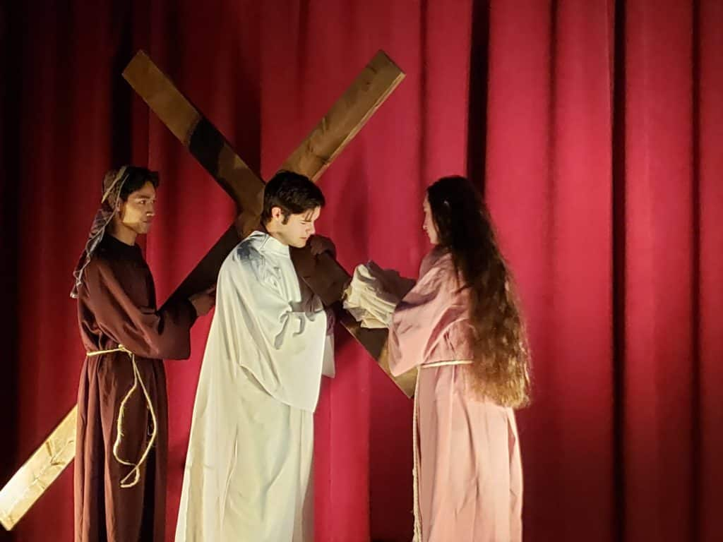 Come see the live action Passion Play presented by our youth group 4