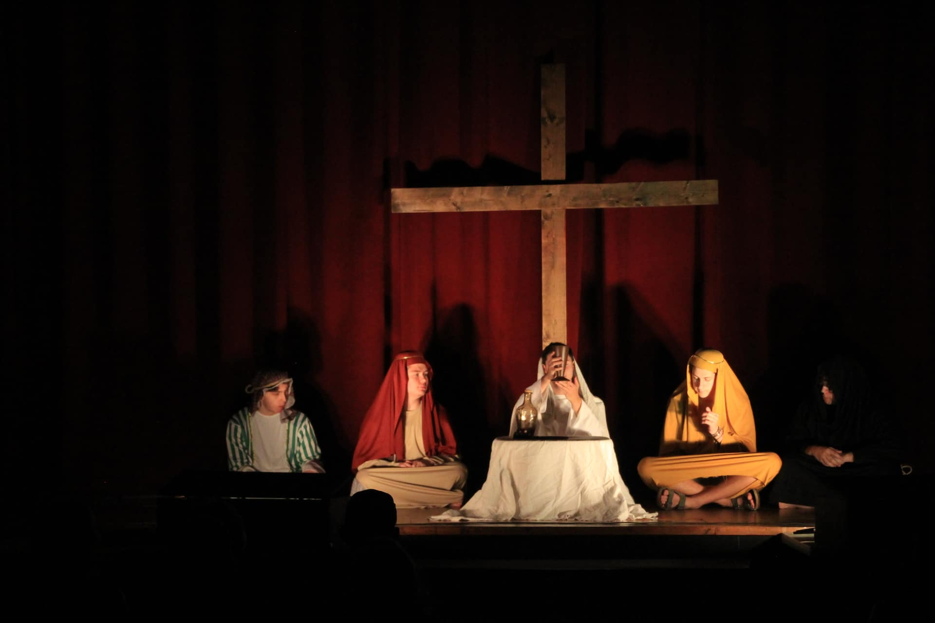 Come see the live action Passion Play presented by our youth group